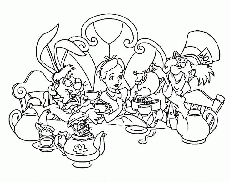 disney alphabet coloring pages - photo#8