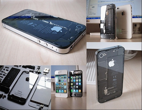 Transparent iPhone 4 Digitizer, Front/Rear Panels.: Iphone 4S, Tech Iphone, Iphone Tech, Apple Products, Cases Iphone, Technology Cases Chargers, Iphone 4 Cases, Iphone Accessories