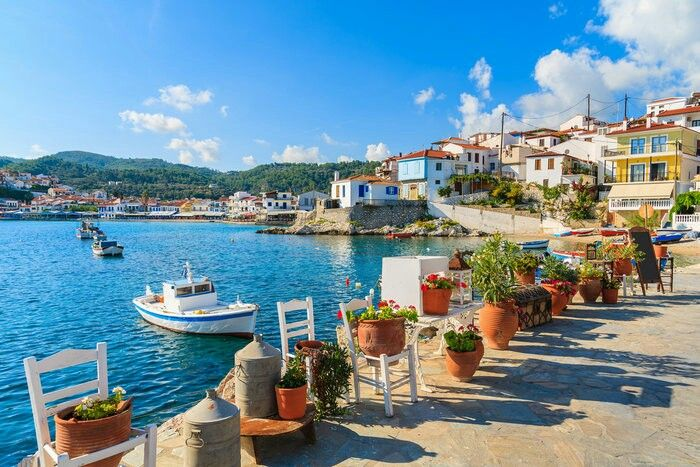 Samos island Greece