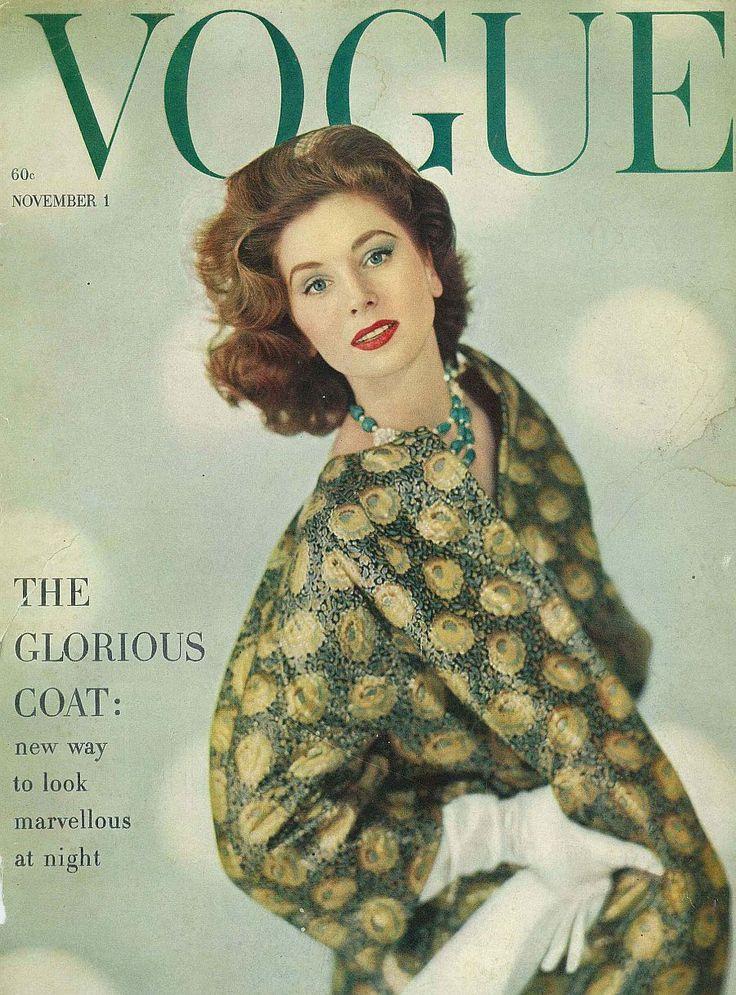 Suzy Parker, November Vogue 1958