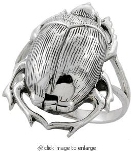 """SS Ladybug """"Poison"""" Ring (looks like a beetle to me tho)"""