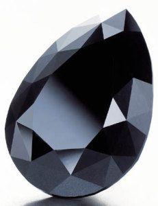 """Крупнейший в мире черный бриллиант (монокристалл) """"Амстердам"""". Фото: christies.com"""