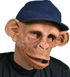 Маска обезьяны из бумаги и картона, костюм обезьяны. Костюмы и маски обезьяны - фото