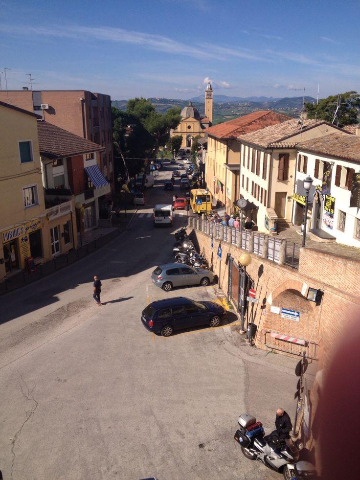 Tavullia, Italy. Home of Valentino Rossi.