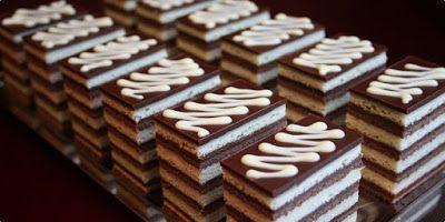 Receptek, és hasznos cikkek oldala: Kakaós-krémes szelet