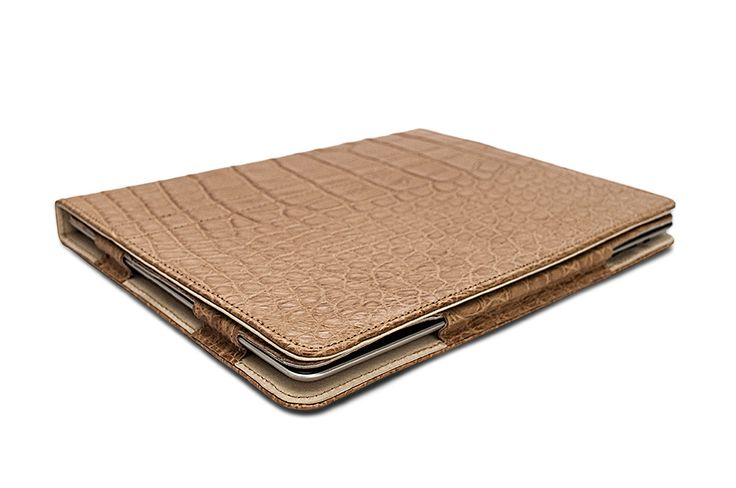 iPad Book Cover Exotic Leather #FoglizzoLeather #leather