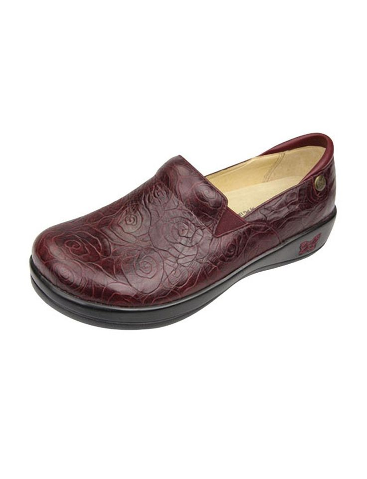 Share Tafford with your friends and receive a promo code for $5 OFF your order! (on qualifying brands) Alegria Keli Clearance Printed Leather Nursing Shoes #scrubs