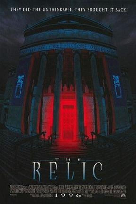 The Relic: Movie Posters, Relic Film, Favorite Horror, Horror Moviesact, Horrorscifi Movie, Film Posters, Horror Film, Favorite Movie, Good Books