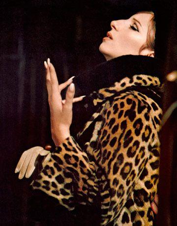 Barbra Streisand, having a moment in Funny Girl, 1968.