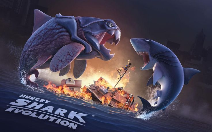 If you like survival games then Hungry Shark Evolution is the game for you. The goal of this game is to survive as a hungry shark anyhow and take control of it. You know how to eat everything and survive as long as possible. So, try out this addictive game.