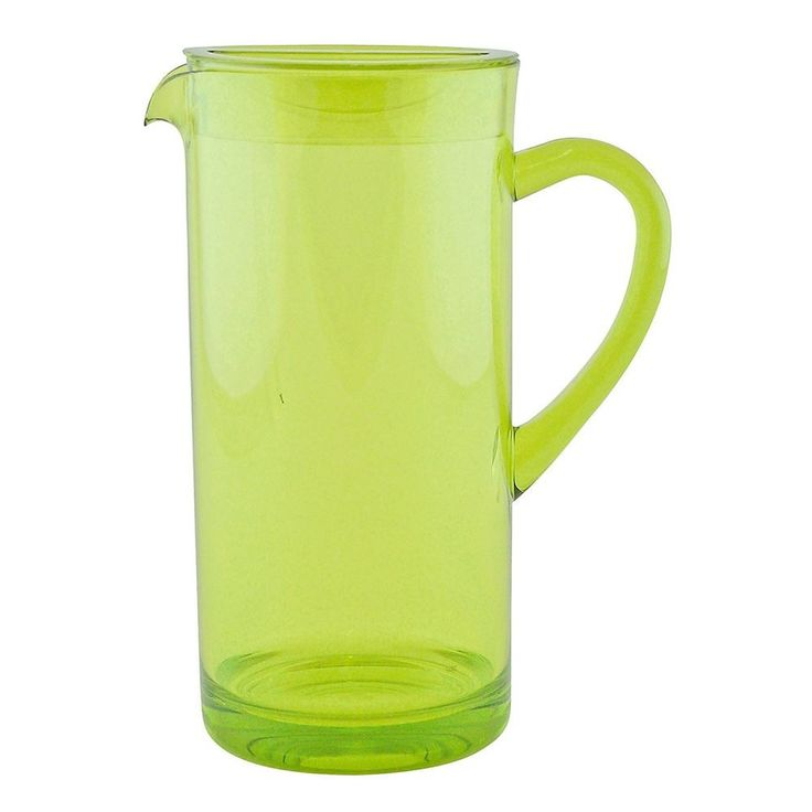 zak! Designs Green Tinted Pitcher