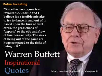 Value Investing: Dancing In and Out of Investments Quote Slide