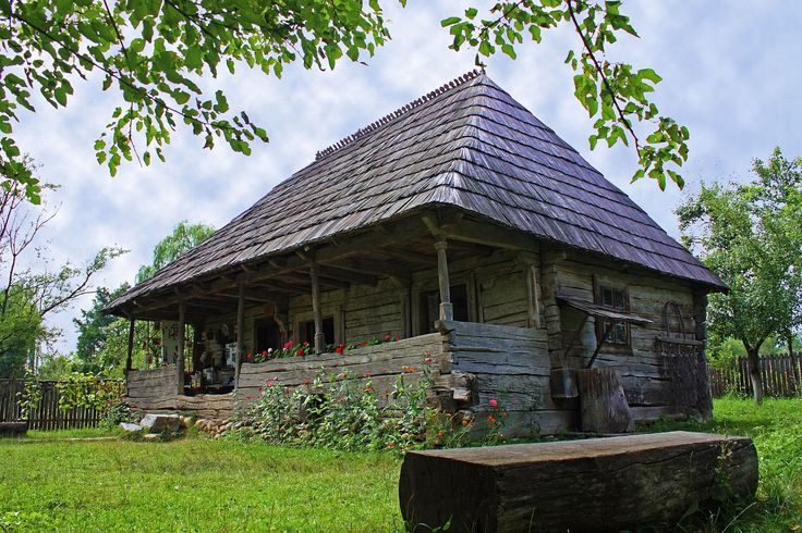 Contantin Brancusi birth house, Hobita village, Tg. Jiu