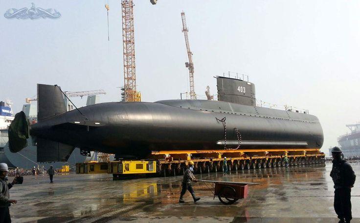 The Unveiling of Indonesian New Submarine KRI-403 Nagabanda (Improved Chang Bogo class Submarine) [1600x991]
