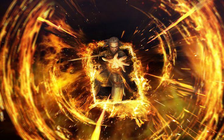 Geralt, Gwent: The Witcher Card Game, 4k, 8k wallpaper