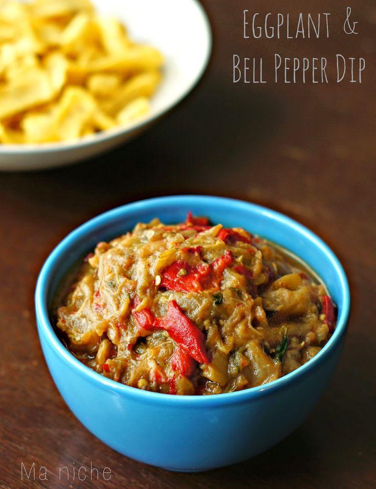 Ma Niche : Spanish Eggplant & Bell Pepper (Dip) | Tapas | Mezze ...