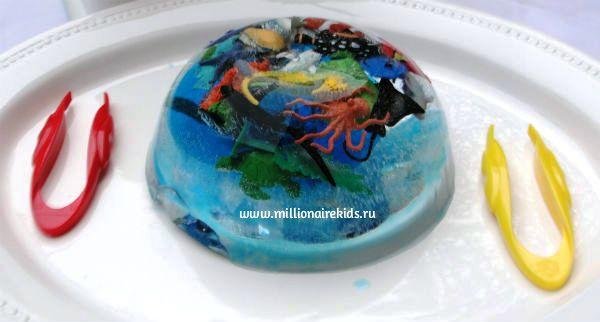 #дети #эксперименты_для_детей Эксперименты с водой для детей, из которых они увидят разную плотность воды, реакцию соли на замороженную воду. Прибавим детское творчество на морскую тему.