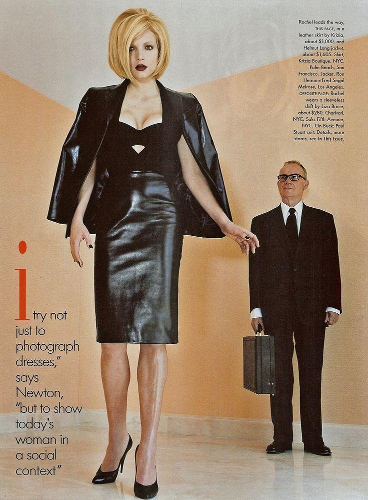 Skirt suits, uniforms, amazing dresses... : lexeecouture: Rachel Williams, ph. Helmut Newton