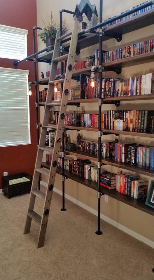 the 25 best homemade bookshelves ideas on pinterest book shelf diy wood crate furniture and. Black Bedroom Furniture Sets. Home Design Ideas