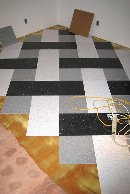 Done In Floor Tiles Instead Beyond Cool In Mulit Bright Colors Patterned Floor Tiles Vct