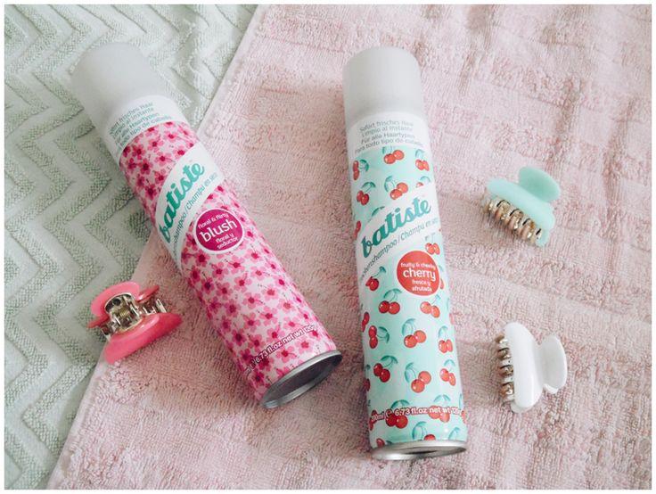 JUNE GOLD BEAUTY FAVORITES | Batiste Dry Shampoo Blush & Cherry