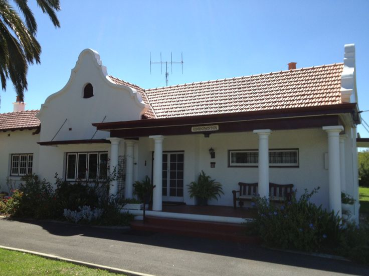 Woodchester Bed and Breakfast Katanning  Western Australia Beautiful Cape Dutch architecture Circa 1927