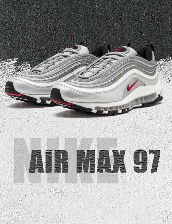Nike Air Max 97 Og Silver Bullet In 2020 Air Max 97 Air Max Nike Air Max 97