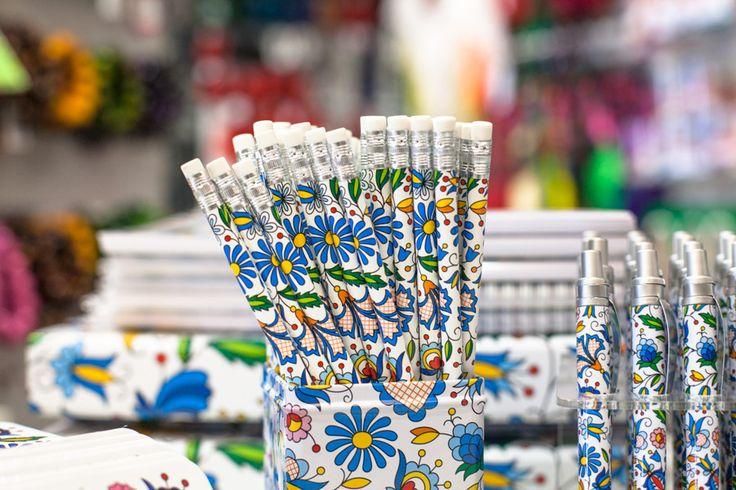 Kaszuby, folklor, folkstar, folk, łowicz, design, ołówek, na ludowo, ludowe, przybory szkolne