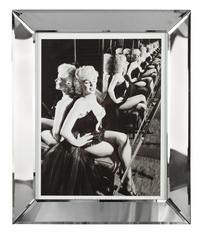 Schilderij Marilyn Monroe in zwarte danskleding | Rofra Home #MarilynMonroe