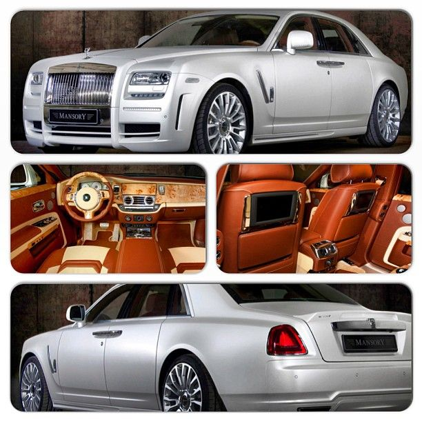 Mansory Rolls-Royce White Ghost Limited Edition