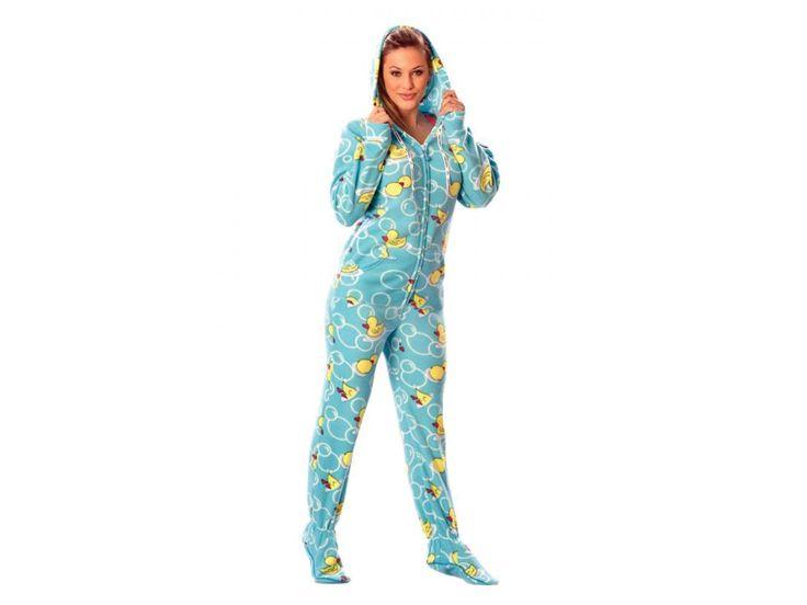 Blue Duck Adult Drop Seat Pajamas