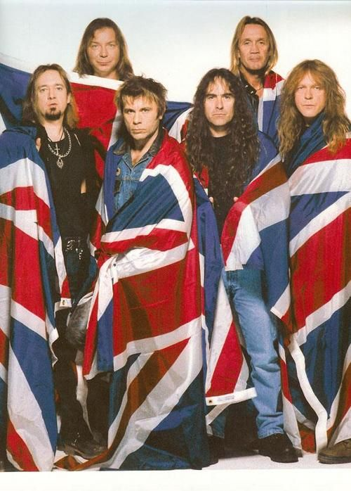 Iron Maiden. Favorite band of ALL time. I've seen them twice live, Irvine '06 and '12.