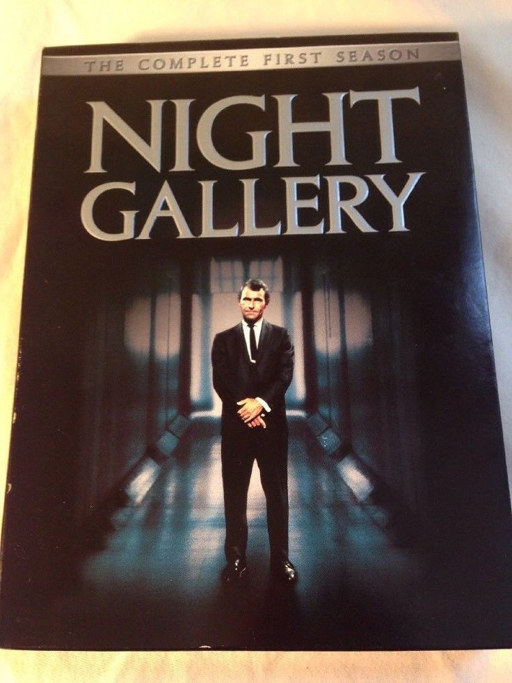 Night Gallery - The Complete First Season One & Movie DVD Set Rod Serling