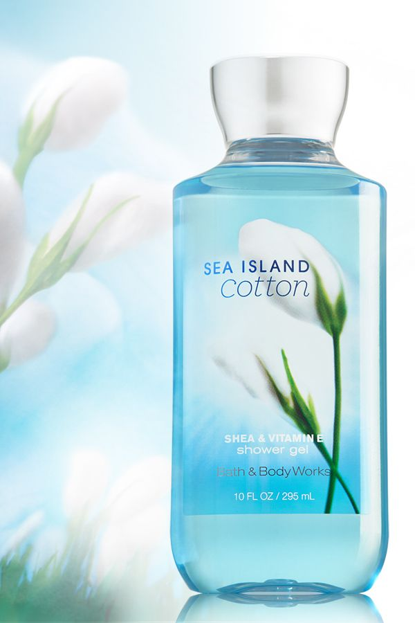 Start EVERY day with refreshing fragrance & soothing suds! #SeaIslandCotton