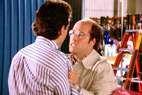 seinfeld jerry and george writing a pilot