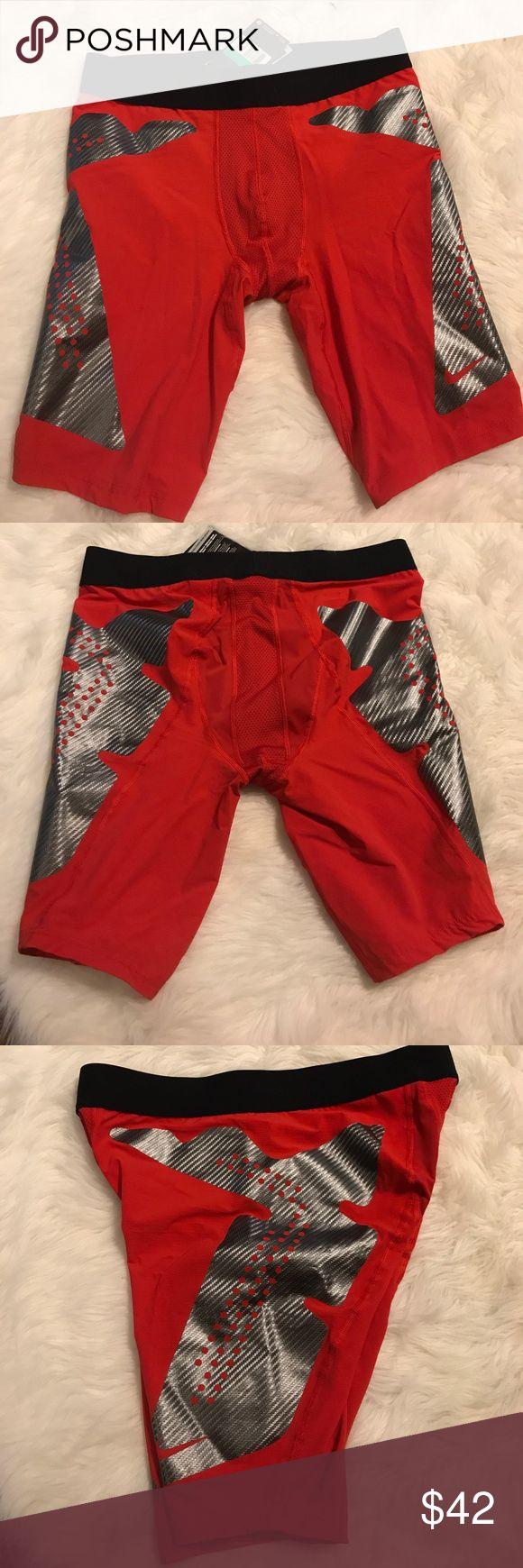NWT Nike pro combat compression shorts Never worn tags came off in storage Nike Shorts Athletic