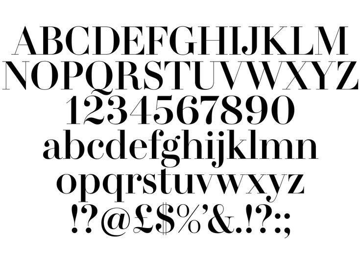 Amperserif custom typography for H&M by The Studio in collaboration with Monotype.