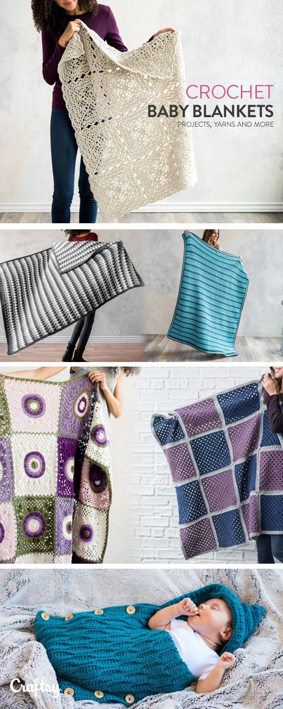 Explore crochet baby blanket projects, yarns, videos and more!