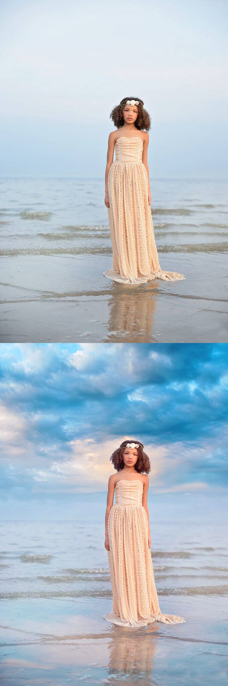 Before and after using Summerana Skies #Overlay and #Action Collection for both…
