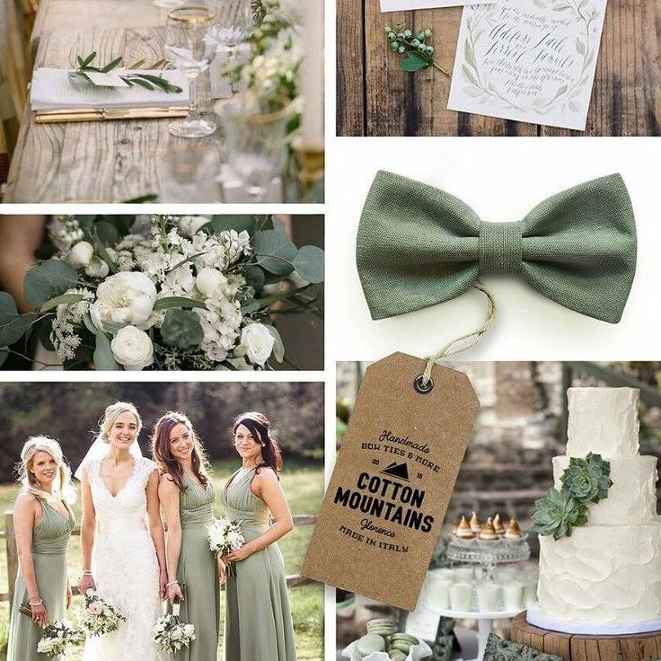 Sage green is one of the trend colors for #summer weddings! As always we are ready!  - #cottonmountains #rustic #wedding #bowtie #sage #green #trend #colors #palettes #dapper #style #menstyle #groom #groomsmen #handmade #madeinitaly #preppy #fashion #marriage #accessory #papillon #tie #suit #spring #party #etsyshop #etsy #handsewn #photooftheday