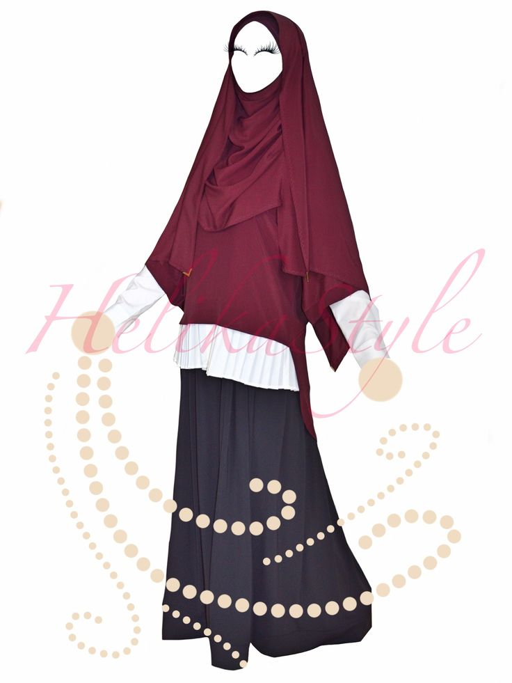 HelikaStyle Look-book! Sew hijab and modest clothes with HelikaStyle!