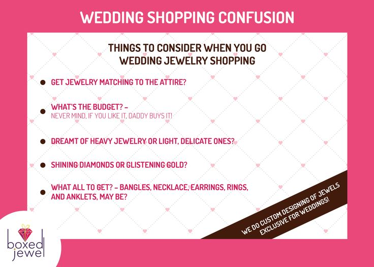 #Wedding #Shopping Confusion? Worried about the #budget? Don't worry, if you like it, #Daddy buys it! www.boxedjewel.com #Jewellery