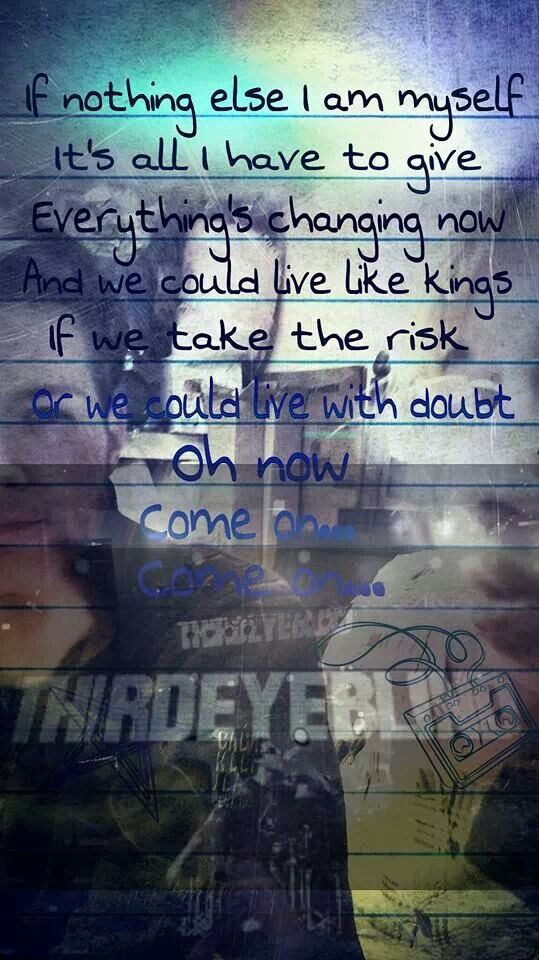 Third eye blind lyrics