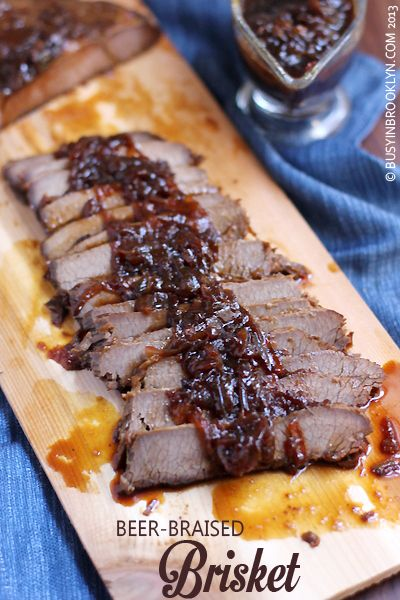 ... in Brooklyn » Blog Archive » Beer Braised Brisket with Onion Gravy