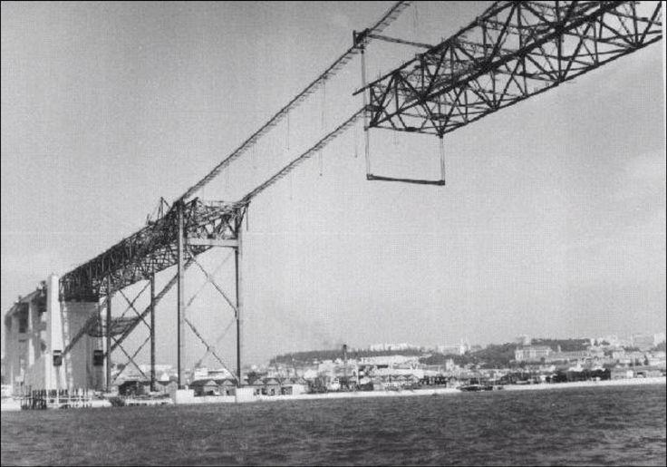 Ponte Salazar em Construção (hoje 25 de abril ?!)