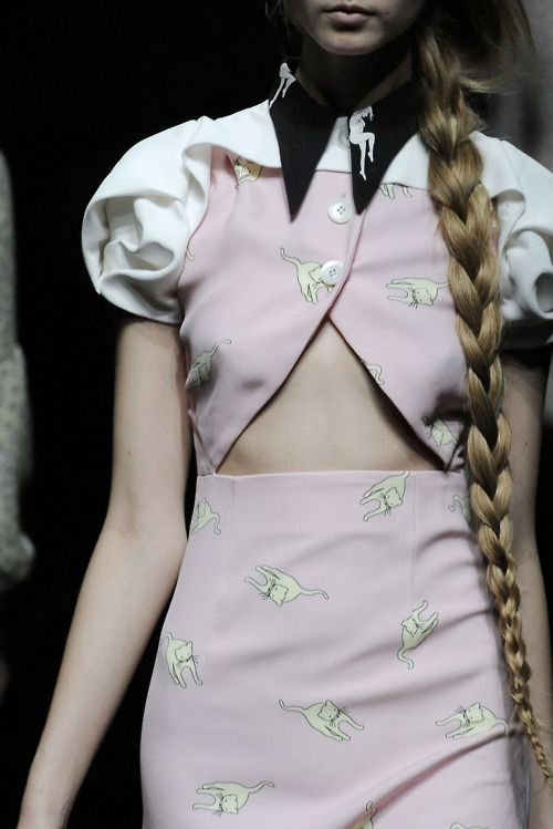 Still Love this Miu Miu Collection. The braid is pretty great too.