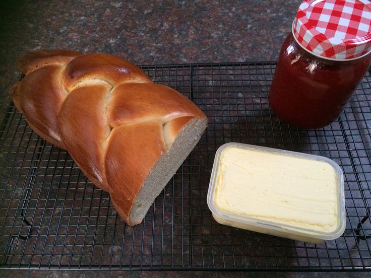Bread, butter, jam ~ homemade basics :)
