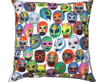 Frida Mexicaanse kunst gooien kussen decoratieve door AllegraB