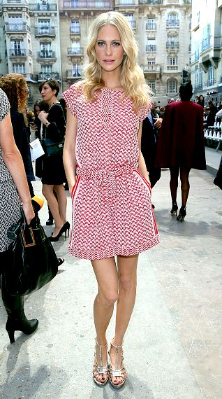 Poppy Delevingne in Paris