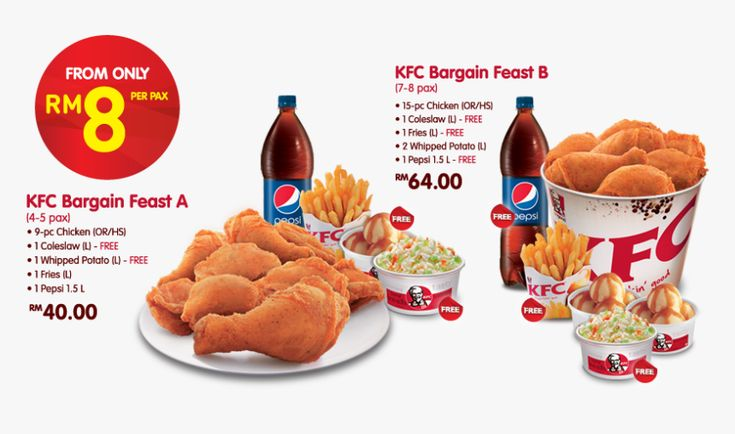 Bucket kentucky fried chicken menu prices in 2020